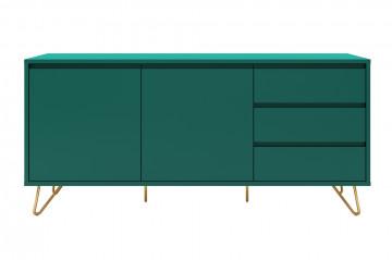 Comoda din MDF 70 cm verde
