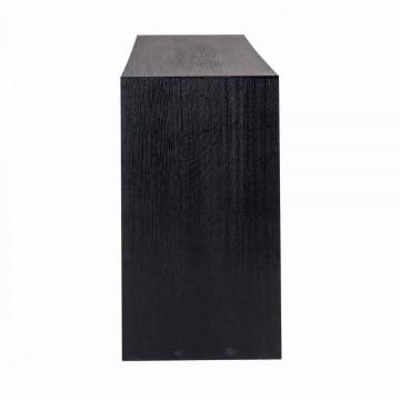Consola din lemn de stejar Oakura 200 cm