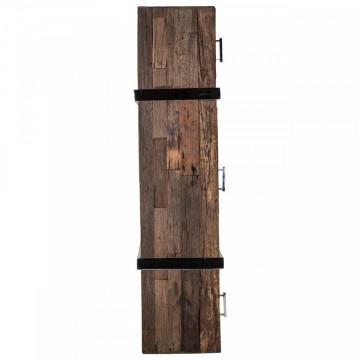 Consola din lemn reciclat cu spatiu de depozitare Kensington 180 cm