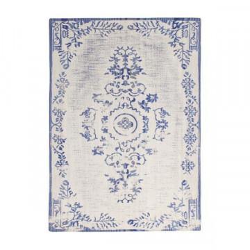 Covor din lana Oase 160x230 cm - albastru