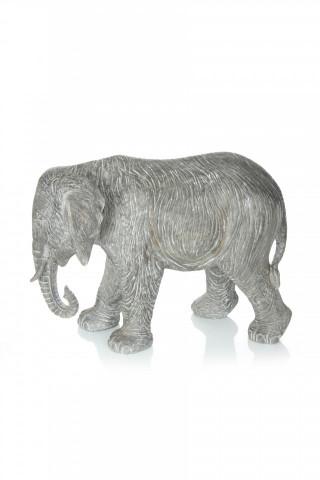 Decoratiune Elephant, gri