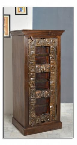 Dulap din lemn reciclat Almirah 55x120 cm