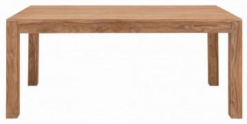 Masa dreptunghiulara din lemn sheesham Sanam 200x100x75 cm maro