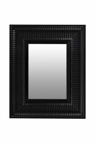 Oglindă dreptunghiulara cu rama din polistiren neagra Howard 49x40x3 cm