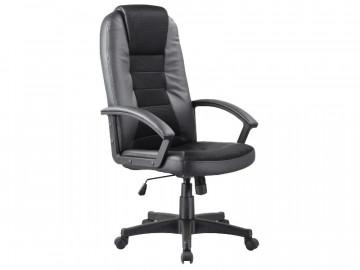 Scaun de birou din piele ecologica Q19 negru