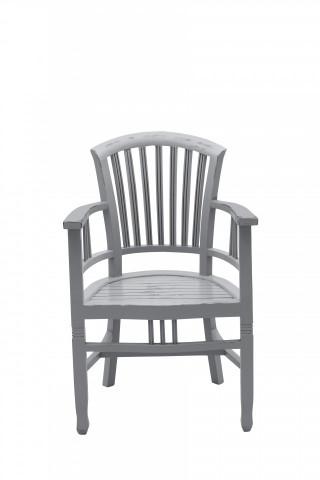 Scaun din lemn Spa gri