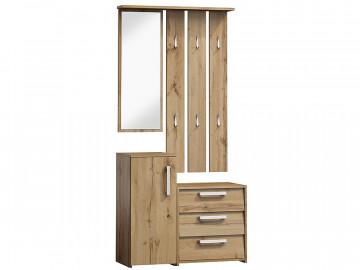 Set pentru hol din lemn 190 x 89 x 40 cm maro