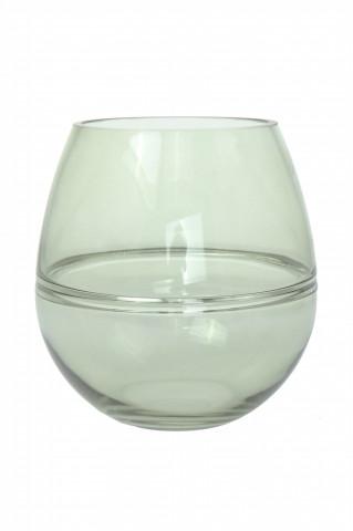 Vază din sticlă Sidney, verde