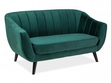 Canapea Elite verde, 2 locuri
