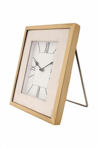 Ceas de masă Moments 3x21x27 cm auriu