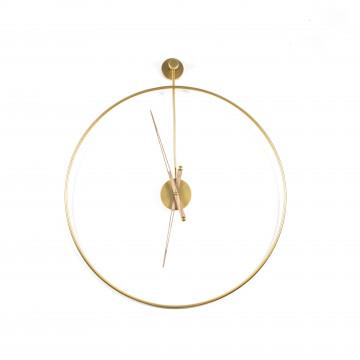 Ceas de perete 50x6x50 cm auriu