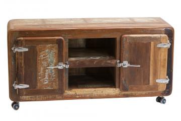 Comoda din lemn reciclat Fridge 135 cm