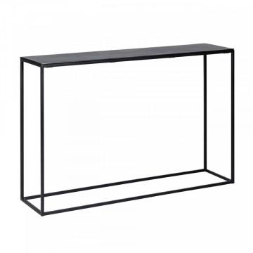 CONSOLA Bolder aluminium black