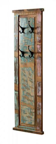 Cuier din lemn reciclat Riverboat 35 x 8 x 110 cm