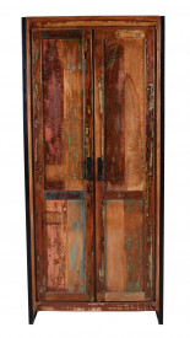 Dulap din lemn reciclat Bali 80x180 cm