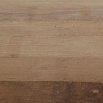 Masuta de cafea dreptunghiulara din lemn de tec 120x80x40 cm maro