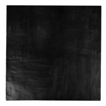 Masuta de cafea patrata din metal Bolder 36x90x90 cm neagra