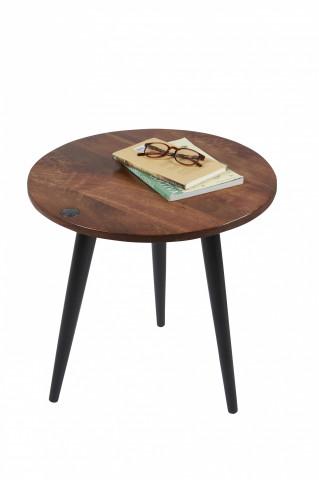 Masuta de cafea rotunda din lemn de mango Tom Tailor 60 x 57 cm