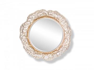 Oglinda rotunda cu rama din fier aurie Chadd, 79 x 79 x 3,5 cm