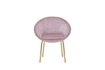 Scaun din catifea Sit&Chairs roz