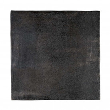 Set 2 masute de cafea patrate din metal Jaysen 56x35x35 cm negre