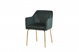 Set 2 scaune din catifea Sit&Chairs Forest Green