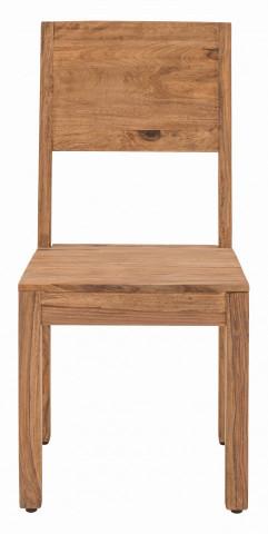 Set 2 scaune din lemn Sanam maro