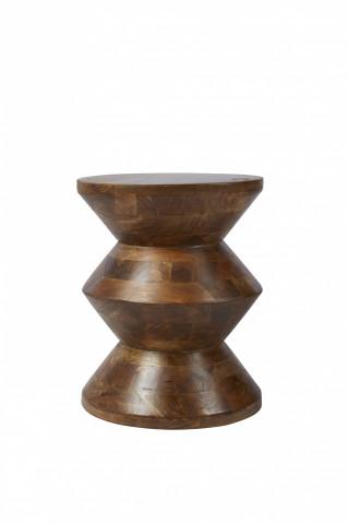 Taburet din lemn de mango Tom Tailor 36x45 cm