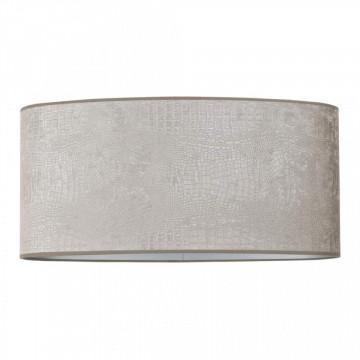 ABAJUR oval din polyester Marly argintiu