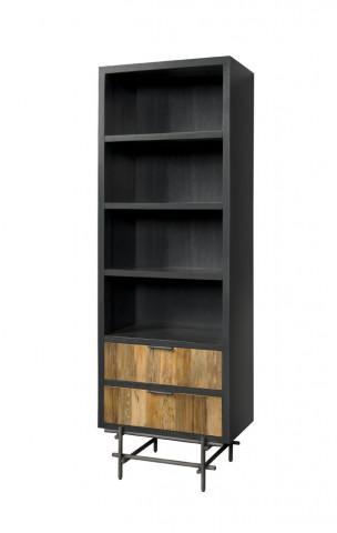 Biblioteca din tec 65x199 cm