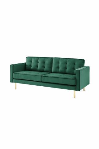 Canapea Bohemian verde, 2 persoane
