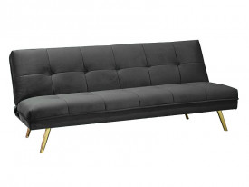 Canapea extensibila Moritz gri, 3 locuri
