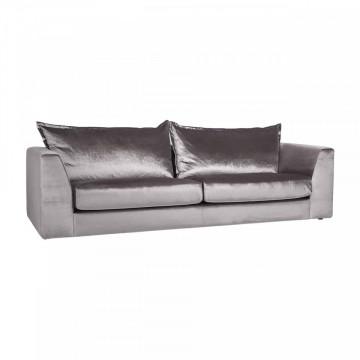 Canapea Roxanne, 3,5 locuri, argintiu
