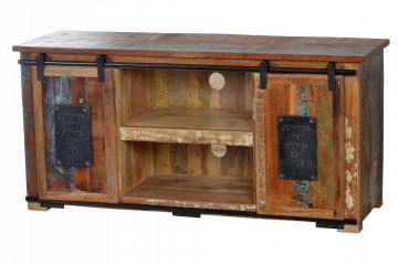 Comoda din lemn reciclat Jupiter 130 cm
