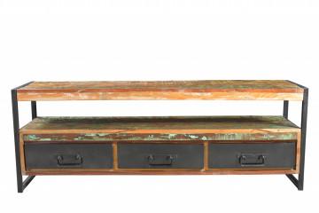 Comoda TV din lemn Bali 155 cm