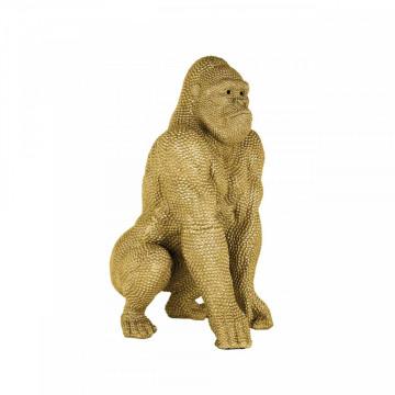 Gorila decorativa, auriu