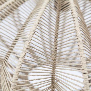 Lustra din bambus Nimbus natural, un bec