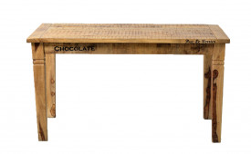 Masa dreptunghiulara din lemn de mango 140x70x76 cm