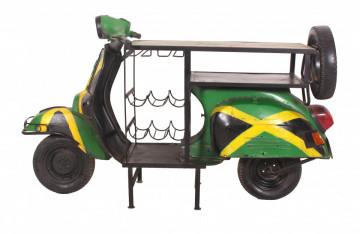 Masa pentru vin Jamaica This & That, depozitare pentru 6 sticle