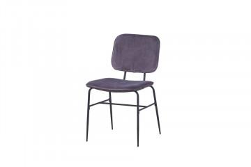 Set 2 scaune din catifea Sit&Chairs Grey