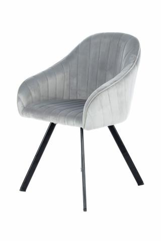 Set 2 scaune tapitate Jodie gri