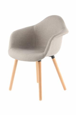 Set 2 scaune tapitate Winston Beige