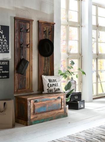 Set 3 piese mobilier pentru hol din lemn Riverboat