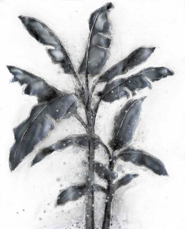 Tablou din aluminiu Palme II 80cm x 100cm