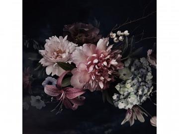 Tablou din sticla Flowers III 80 x 80 cm