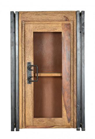 Vitrina perete din salcam Panama, o usa