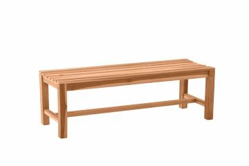 Banca pentru gradina din lemn de tec maro