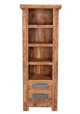 Biblioteca din tec Coralo 70x195 cm