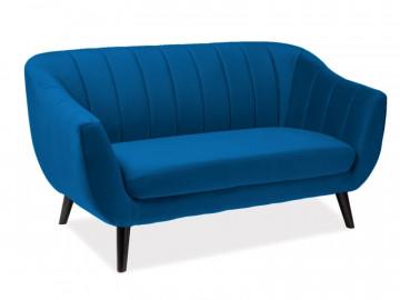 Canapea Elite albastra, 2 locuri