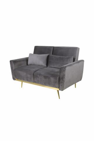 Canapea Macy gri, 2 locuri
